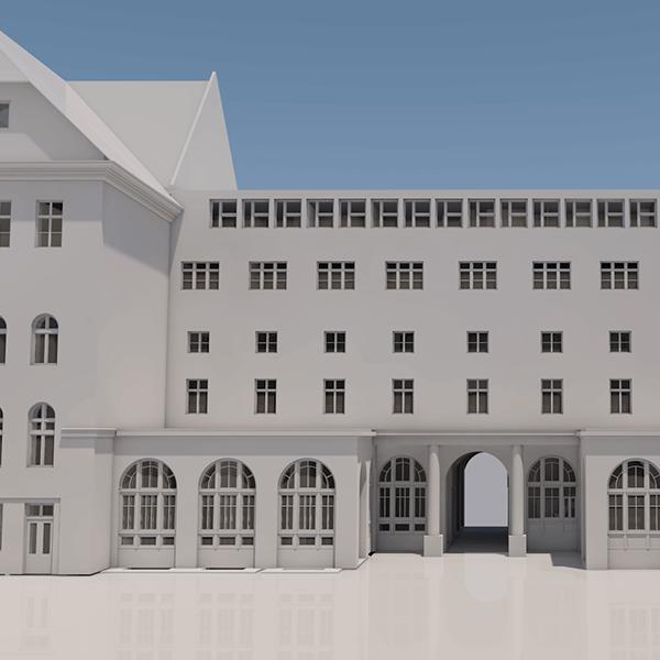 Fővárosi Városháza felmérése